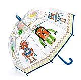 Djeco- Paraguas Infantil Robots (DD04806)