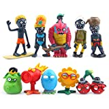 PlantsVsZombies Plants VS Zombies - Set 10 Figuras 3-8cm / PVZ 10 Figures Set 1'-3'
