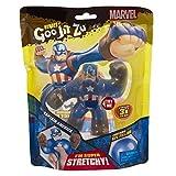 Heroes de Goo Jit Zu - Figura Acción Marvel (CAPITÁN AMERICA)