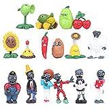 Honeytoy Plants vs Zombies Serie de Juguetes Show de Personajes Serie de Juguetes PVC Toys (A)