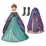 Disney Frozen 2 Anna 's Queen Transformation muñeca de Moda con 2 Trajes y 2 Estilos de Pelo, Juguete Inspirado en Disney's Frozen 2