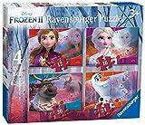 Ravensburger Puzzle, 03019, Frozen 2, 4 Puzzle in a Box, Puzzle Niños, Edad Recomendada 3+ , Rompecabezas Ravensburger