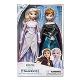 Frozen 2 Disney Queen Anna & Snow Queen Elsa Doll Set of 2 Classic Dolls 30cm