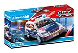 PLAYMOBIL- City Action Playset, Coche de Policía con Luces y Sonido, Multicolor (6920)