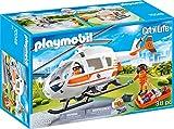 PLAYMOBIL City Life Helicóptero de Rescate, A partir de 4 años (70048)