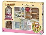 SYLVANIAN FAMILIES- Classic Furniture for Cosy Cottage Starter Home Set Mini muñecas y Accesorios, Multicolor (Epoch para Imaginar 5220)
