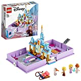 LEGO Disney Princess - Cuentos e Historias: Anna y Elsa, Juguete de Frozen 2, Castillo de Arandelle, con Mini Muñecas de Película Elsa, Ana, Olaf y Kristoff, a Partir de 5 Años (43175)