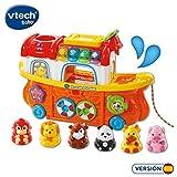 VTech- TutTut Animals Arca de Animales Juguete interactivo con luz y voz que enseña el clima, colores e incluye más de 50 melodías, canciones y frases (3480-504522) , color/modelo surtido
