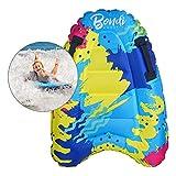 Tabla de Surf Inflable, Bodyboards para Niños Tablas de Surf Inflables Fila Flotante Piscina de Surf Flotadores Tabla De Surf para Vacaciones En La Playa Fiesta De Verano Piscina