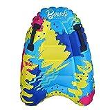 GRANDLIN Tabla de surf inflable al aire libre de color sólido boya kickboard niños seguro de mar tabla de surf para niños