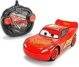 Cars 3 Turbo Racer Lightning Mcqueen Rayo Voiture RC MC Queen Echelle 1/24 (Simba 3084003)
