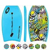 Osprey Pegatinas Tabla de Bodyboard Slick con Correa Correa, Unisex, Stickers, Azul