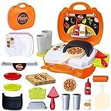 BeebeeRun Cocina Alimentos Comida Juguete Niños 3 Años,Juguete Imitación,Accesorios de Cocina para Niños