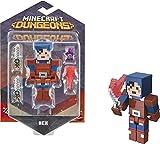 Minecraft Dungeons Figura de Juguete de 8cm Hex acción (Mattel GNC25)