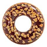 Intex 56262 - Rueda hinchable donut chocolate, 99 cm diámetro