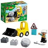 DUPLO Town DUPLO Construction Buldócer Vehículo de Construcción de Juguete Set para Niños Pequeños de 2+ Años de Edad, multicolor (Lego ES 10930)