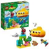 LEGO DUPLO Town - Aventura en Submarino Juguete Educativo de Baño para Bebés, (10910)