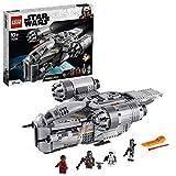 LEGO 75292 Star Wars The Mandalorian Nave Espacial del Cazarrecompensas Juguete con Minifigura del Niño