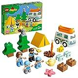 LEGO 10946 Duplo Mi Ciudad: Aventura en la Autocaravana Familiar, Coche de Juguete para Niños y Niñas +2 años
