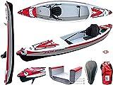 BIC Sport Inflatable Kayak YakkAir FULL HP2 - 410 - by Surferworld
