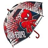 Cerdá 2400000290 Paraguas, Rojo (Rojo 001), One Size (Tamaño del fabricante:Única) para Niños