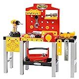 Ecoiffier 2350 - Juego de Banco Modular + Herramientas para niños Mecanics - Juego de Bricolaje - 32 Piezas - A Partir de 18 Meses - Fabricado en Francia
