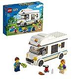 LEGO 60283 City Autocaravana de Vacaciones Juguete de Construcción Veraniego con Motorhome Set