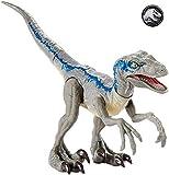 Jurassic World Dino-crías Velociraptor Blue, huevo de dinosaurio de juguete (Mattel GCR55)