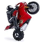 Ducati Panigale V4 S Upriser - Moto teledirigida a Escala 1:6, Alcance 20 km/h
