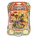 Gormiti Serie 2 Pack De 4 Juguetes De 5 CM, Surtido Aleatorio, Multicolor (Giochi Preziosi GRE08000)