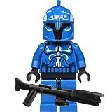 LEGO Star Wars - Figura de capitán del Comando senatorial con Blaster Especial