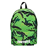 Fortnite - Mochila Camuflaje verde 31 x 43 cm (77082)
