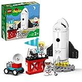 LEGO 10944 Duplo Misión de la Lanzadera Espacial Juguete de Construcción de Cohete Espacial para Niños +2 años con Astronautas