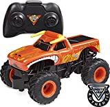 Monster Jam Camión Monstruo de Control Remoto Oficial El Toro Loco, Escala 1:24, 2,4 GHz, para Edades de 4 y más