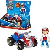 PAW PATROL Ryder's Vehicle with Collectible, for Kids Aged 3 and up Ryder's Rescue ATV vehículo con Figura Coleccionable, para niños de 3 años en adelante (Spin Master 6060755)