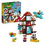 LEGO DUPLO Disney- Casa de Vacaciones de Mickey Disney TM Mouse Nuevo Juguete de Construcción, Multicolor, única (10889)