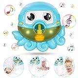 joylink Máquina de Burbujas de Baño, Ducha de Niños Baño de Burbujas Juguetes bebé Maquina de Burbujas 42 Música para Ducha de Niños Baño de Burbujas Ideales Burbuja de Baño Juguetes para Niños