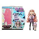 LOL Surprise OMG Winter Chill Muñeca de Moda Big Wig y muñeca Madame Queen con 25 Sorpresas