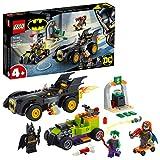LEGO76180DCBatmanvs.TheJoker:PersecuciónenelBatmobileyHotRod,SuperHeroesCoche,Juguetesparaniños+4años