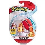 Pokémon Clip 'N' Go Charmander y Poké Ball   Contiene 1 Figura de 5 cm y 1 Poké Ball   Nueva Ola 2021   Licencia Oficial