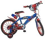 Bicicleta 16' Spiderman