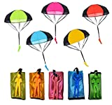 Libershine Paracaídas para Niños, Mano Que Lanza el Juguete del Paracaidista, Juegos de Vuelo al Aire Libre para Niños ¡Dale más Felicidad a tu Hijo