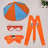 Popular Juguete Blippi para niños, Accesorios para Disfraces de Cosplay, 32 cm, Juguete de Felpa Blippi, muñeco Educativo Relleno para niños-Azul