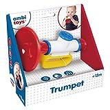 Ambitoys - Trompeta Musical para bebés a partir de 12 meses