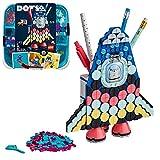 LEGO 41936 Dots Portalápices Cohete Espacial, Accesorios de Escritorio DIY, Manualidades para Niños y Niñas +6 años