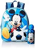 Cerdá, Mochila con Botella de Agua Infantil de Mikcey Mouse-Licencia Oficial Disney Studios Unisex niños, Multicolor, 250X310X100MM