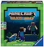 Ravensburger - Minecraft: Builders & Biomes Juego de Mesa, Light Strategy, 2-4 Jugadores, Edad Recomendada 10+