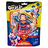 Heroes of Goo Jit Zu - Juego de héroes de DC Superman con héroes Suaves, glutantes y elásticos