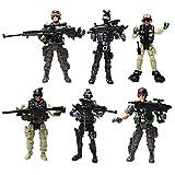 6 figuras de acción de juguete