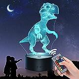 EUCOCO Lampara Dinosaurio, Regalos Niño 2-12 Años Juguetes Niño 2 3 4 5 6 7 8 Años Regalos para Niñas de 2-10 Años Juguetes Niñas Regalos de Cumpleaños para Niños